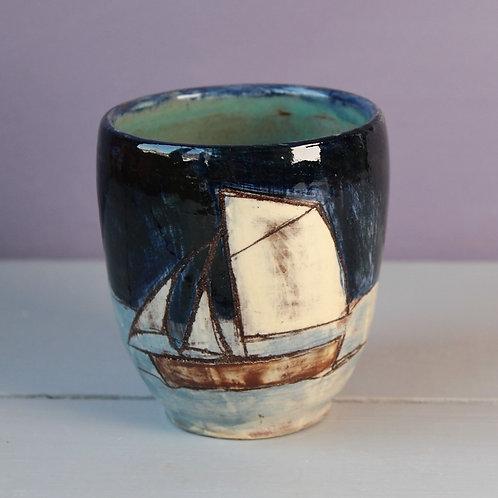 Calm Night Sailing Drinking Vessel