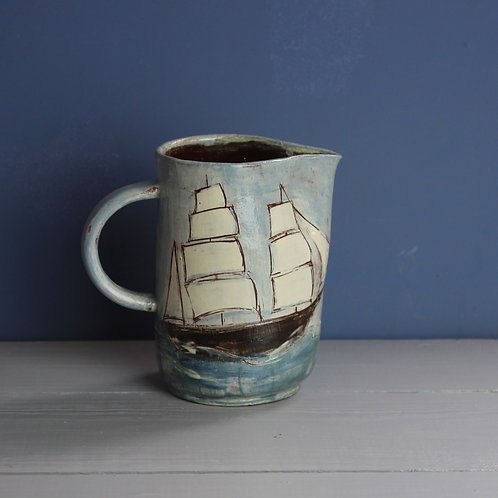Sailing Ship Jug