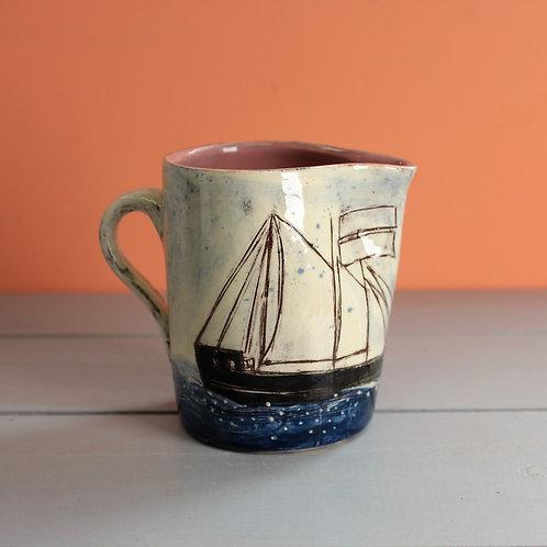 White Sails Jug