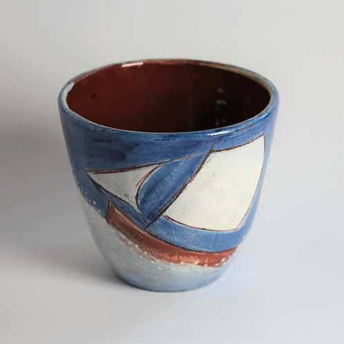 Blue Skies Drinking Vessel