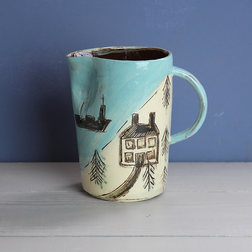 Ships and Fir Trees Jug