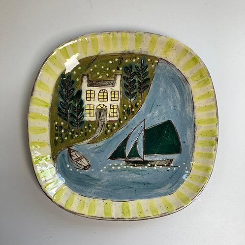 Striped Edge House Platter