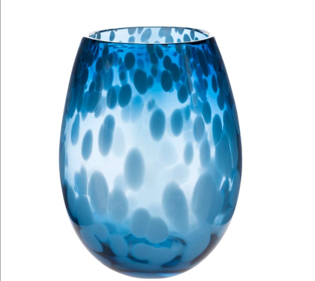 Blue Egg Vase