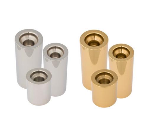 Silver & Gold Barrel Holders