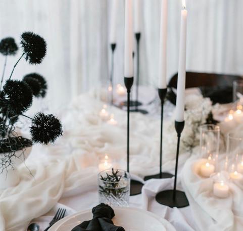 Black candlesticks Queenstown
