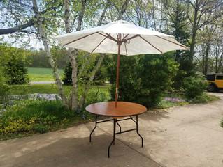 Umbrella Set for sunny days