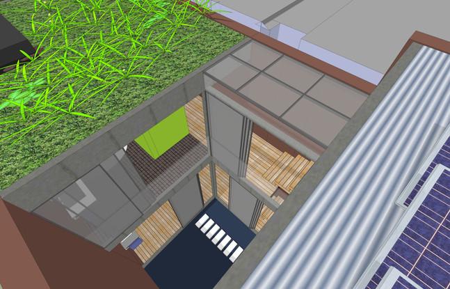 Concept Sketch Angel Street roof