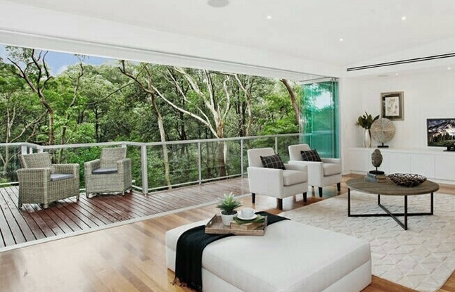 Riverview living room