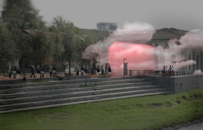 Cloud Sculpture - Zürich