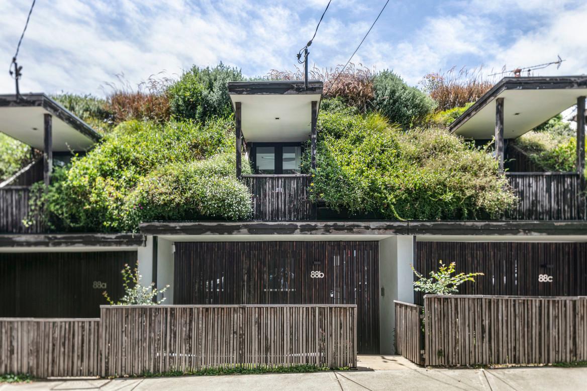 street green roof - three terraces
