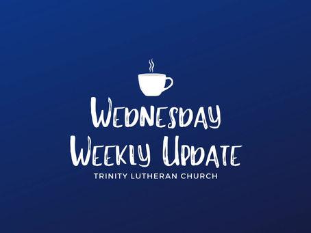 Weekly Wednesday Update - 5/27/20