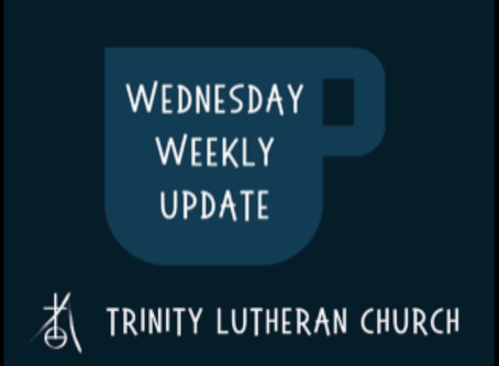 Weekly Wednesday Update 4/8/2020