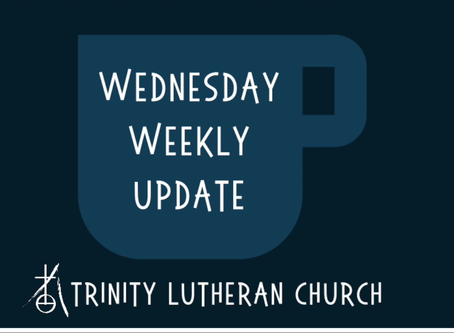 Weekly Wednesday Update  4/1/2020