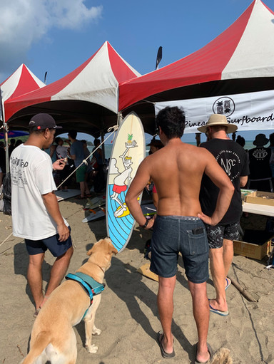 Surfing competiton in TAIWAN