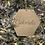 Thumbnail: Pallina esagono oro personalizzata con nome inciso