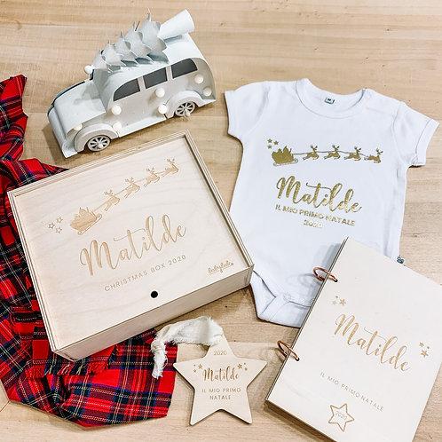 Box di Natale con set regalo personalizzato