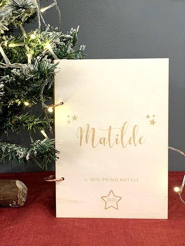 """Album foto personalizzato """"Il mio primo Natale"""""""