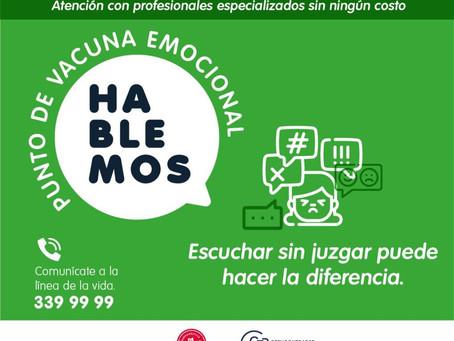 Barranquilla tendrá 'Puntos de Vacuna Emocional' para el cuidado de la salud mental