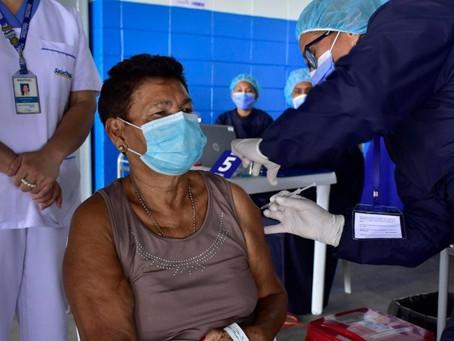 Barranquilla recibió 22.230 vacunas para personas mayores de 65 años