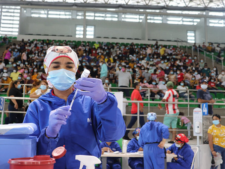 Barranquilla ocupa el primer lugar en aplicación de vacunas contra el Covid-19 en el país