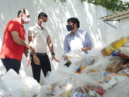 Comunidad islámica de Barranquilla entregó donación de ropa y alimentos