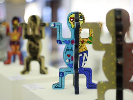 Obras de artistas plásticos participantes de MokanArt son exhibidas en Barranquilla