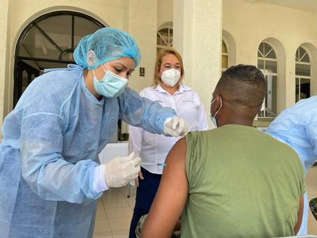 Así avanza vacunación en las fuerzas armadas de Barranquilla