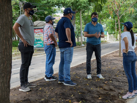 Peatones en Barranquilla contarán con 25 kilómetros de andenes