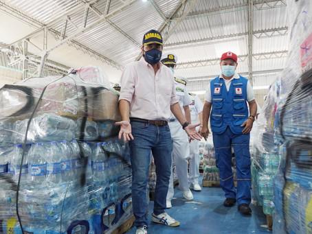 Barranquilla logró recaudar 250 toneladas de ayudas para San Andrés y Providencia