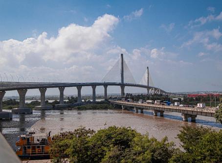 Invías pide garantizar seguridad en el Puente Pumarejo para evitar vandalismo