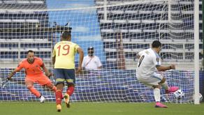 Con una lluvia de goles, Uruguay venció a Colombia en Barranquilla