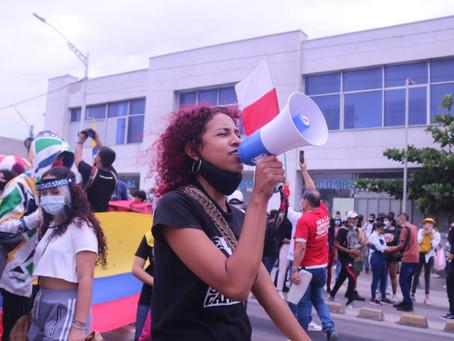 Jornada de protestas en Barranquilla se desarrolló en completa tranquilidad