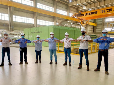 Planta termoeléctrica de Gecelca, importante proyecto de desarrollo en el Caribe