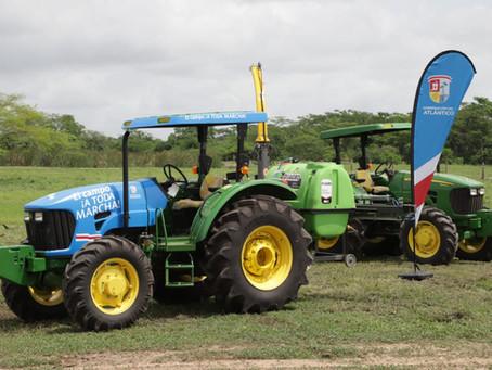 Campesinos atlanticenses contarán con Centro de Servicios Tecnológicos y maquinaria agropecuaria