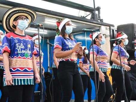 La Navimóvil y el Cinemóvil recorren Barranquilla para llevar alegría y esperanza a los ciudadanos