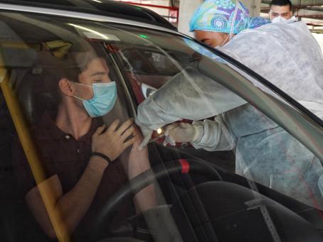 Barranquilla habilitó punto de vacunación Covid-19 con autoservicio