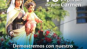 En Atlántico invitan a celebrar en sana convivencia fiesta de la Virgen del Carmen