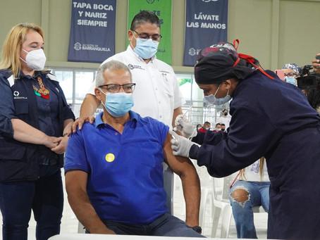 Más de un millón de dosis aplicadas contra el Covid-19 en Barranquilla
