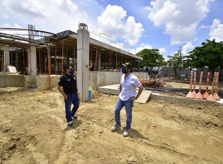 Con obras del hospital Nazareth se beneficiarán más de 50 mil barranquilleros