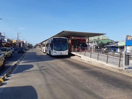 Transmetro reinicia operaciones tras una semana de paro