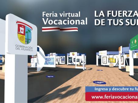 Más de 13 mil estudiantes participan de la primera Feria Virtual Vocacional del Atlántico