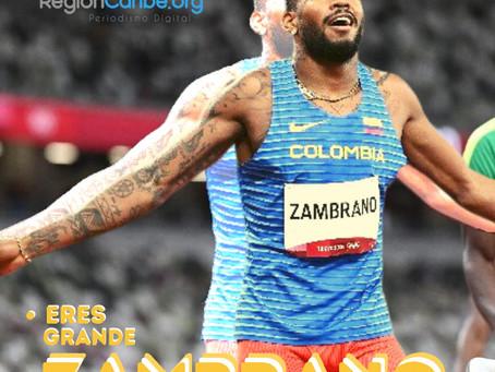 """""""¡Él lo que se propone lo consigue!"""": tío de Anthony Zambrano, subcampeón olímpico"""