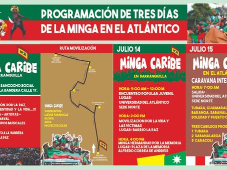 Esta semana la Minga Indígena estará en Barranquilla