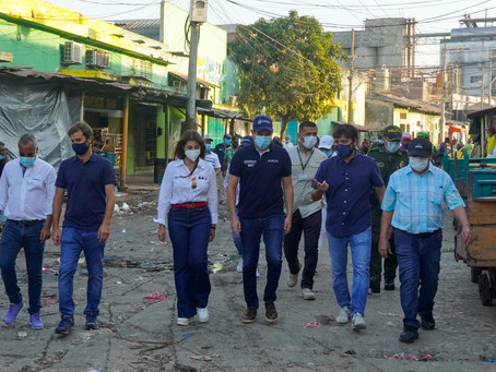 Barrios a la Obra 2021 iniciará obras en sector de Barranquillita