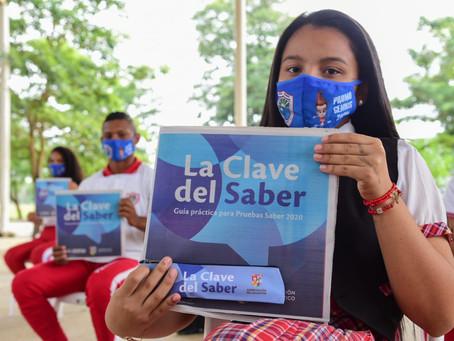 Más de 6.000 kits de apoyo serán entregados a estudiantes en el Atlántico para las Pruebas Saber