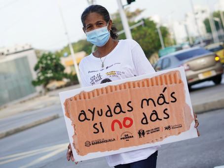 Barranquilla trabaja en erradicar el trabajo y la mendicidad infantil