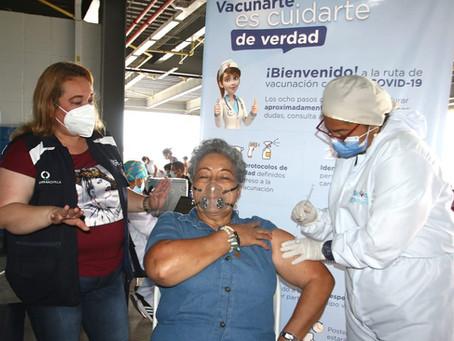 Más de 700 mil dosis aplicadas contra el Covid-19 alcanzó Barranquilla