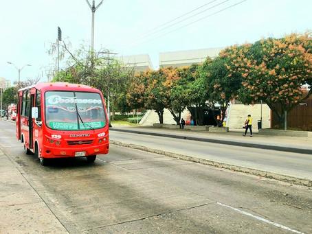 Rutas de transporte público estarán habilitadas durante toque de queda en Barranquilla