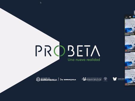 Programa Probeta inicia apoyo a 16 proyectos con soluciones tecnológicas para enfrentar la pandemia