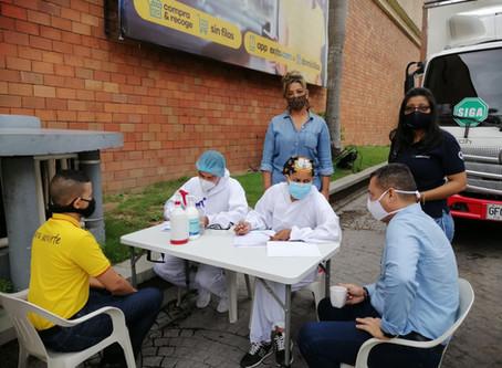 En Barranquilla continúa la búsqueda activa de casos Covid-19